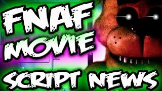 FNAF MOVIE SCRIPT & *NEW* FNAF MERCH || Five Nights at Freddy's Movie confirmed