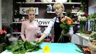 Как сделать НЕДОРОГОЙ и ОРИГИНАЛЬНЫЙ букет своими руками(Как сделать недорогой букет, к примеру, коллеге на День рождения, на свидание, в качестве знака внимания..., 2013-10-25T10:50:42.000Z)