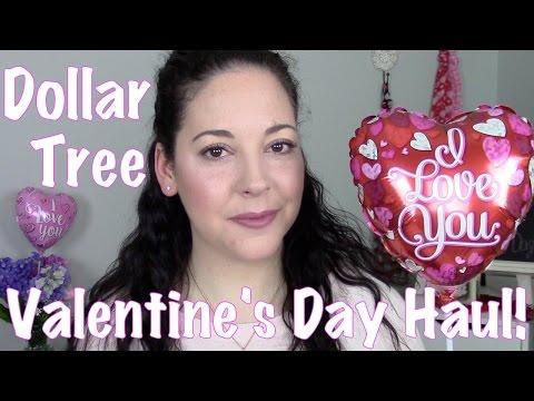 Dollar Tree Valentine's Day & Home Decor Haul | 2016!