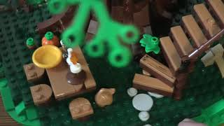 Review Lego Ideas Tree House SET 21318 4K