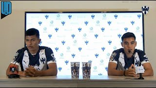 Los futbolistas de Monterrey hablaron, previo al Clásico Regio ante los Tigres de la UANL