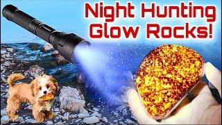 Yooperlite Hunting! Amazing Glow Rocks found here!