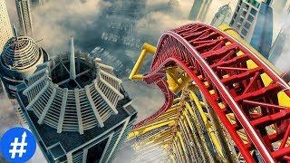 GILA 10 Roller Coaster Paling MENGERIKAN Di Dunia