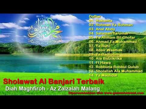Kumpulan Sholawat Al Banjari Terbaik Zalzalah Malang (Musik Hadrah Al Banjari) HD