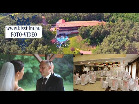 Betti és Viktor esküvői felvételei -Erdőspuszta Club Hotel és Fenyves Vendéglő- KISSFILM.HU