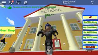 Making my own high school in ROBLOX (ROBLOX)