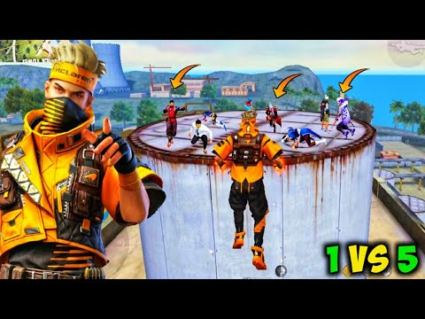 Download 🔥WINNING SPIRIT BUNDLE Factory Roof Unstoppable Fight/🔥 Factory Roof 1Vs5 Gameplay/🔥FF ANTARYAMI