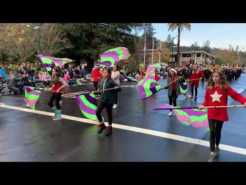 Fisher MS @ Los Gatos Holiday Parade