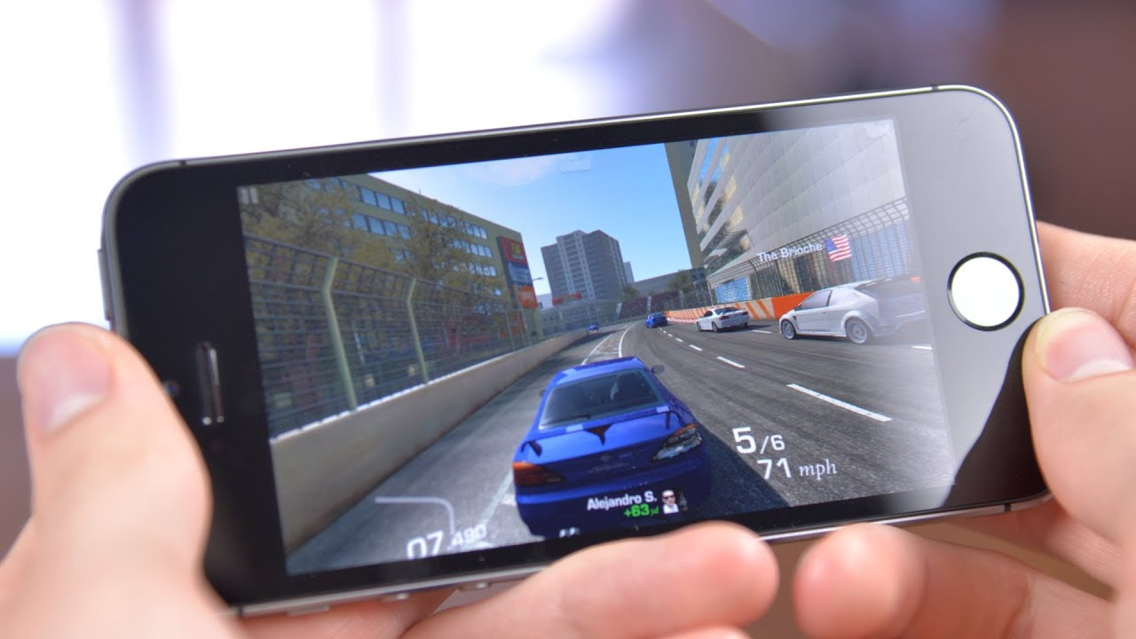 iPhone 5s Games Demo    YouTube