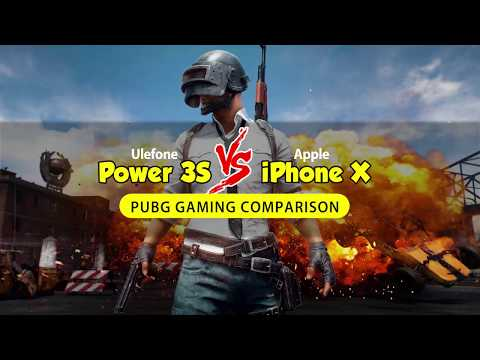 Ulefone Power 3S vs iPhone X Gaming Performance Comparison