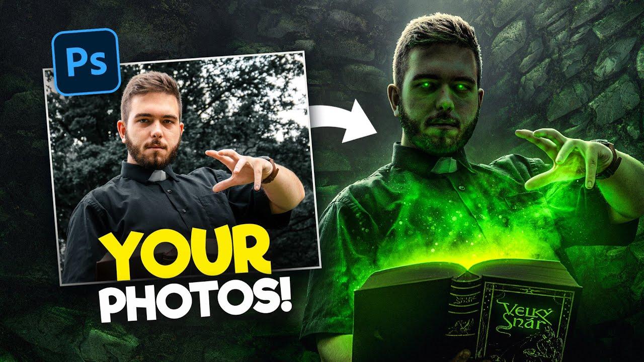 Editing YOUR Photos in Photoshop! | S1E6
