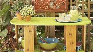 DIY Outdoor Table Plans