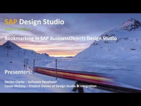 Bookmarking in SAP BusinessObjects Design Studio