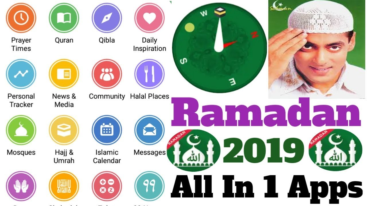 Ramadan 2019, Time Table, Qibla Check, 5 waqt Adhan, Islamic calendar !  Just Download Muslim Pro App