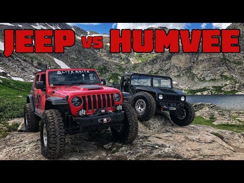HUMVEE vs JEEP! Which is Better Off Road?