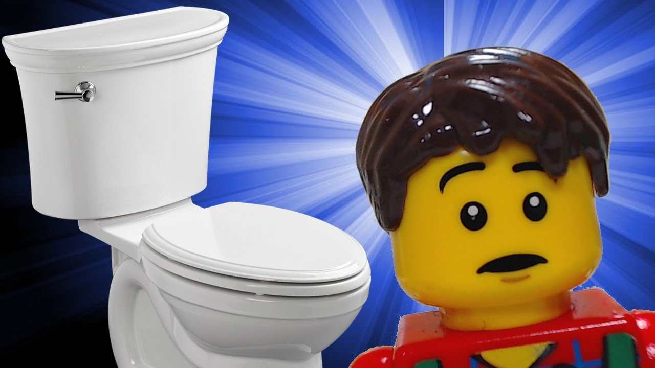 💩 One other LEGO Rest room Clog 💩   ( a lego cease movement animation humorous fail epic brickfilm)