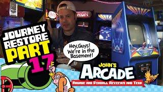 Journey Arcade Restore Part #17 - The Journey is OVER.