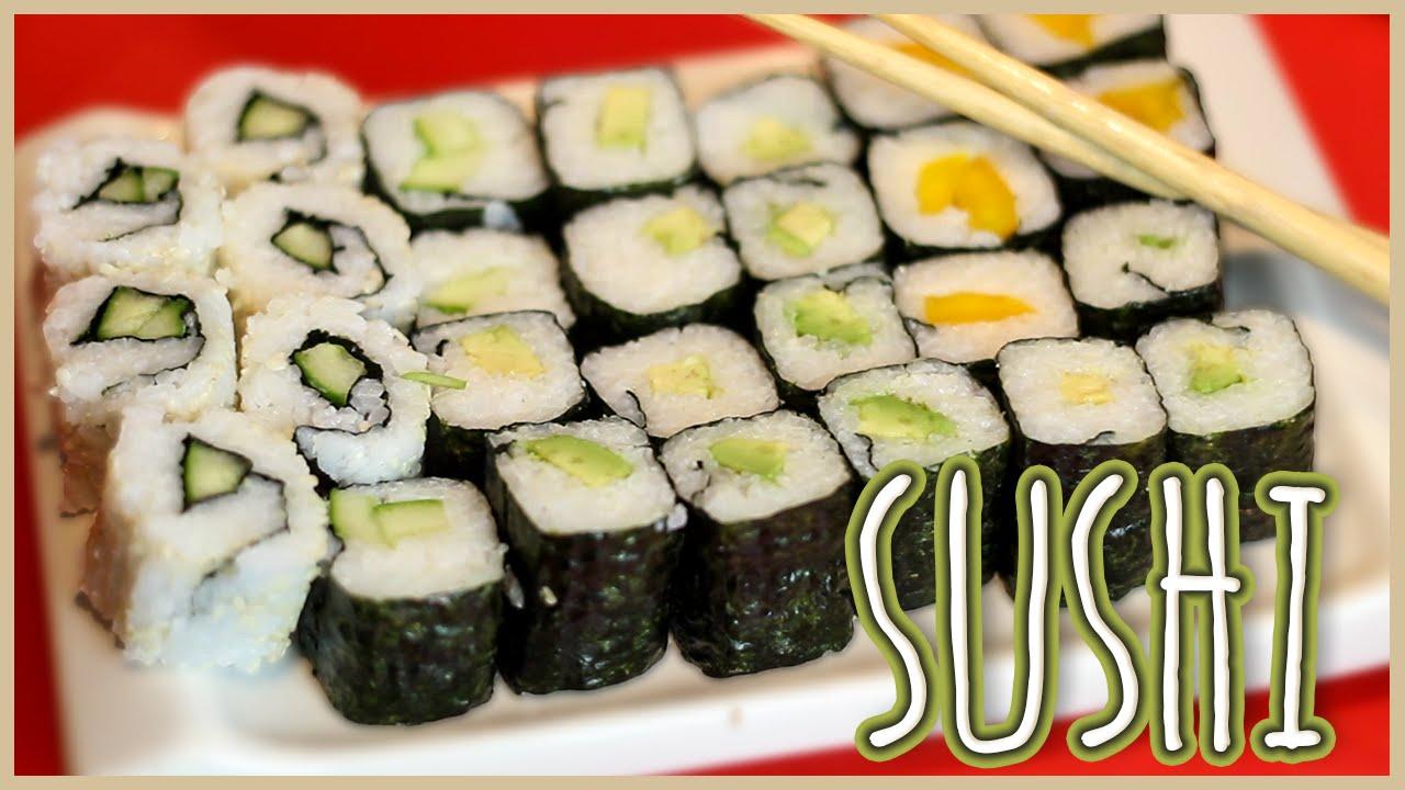 SUSHI - Maki & Inside Out - veganes Rezept - einfach ...