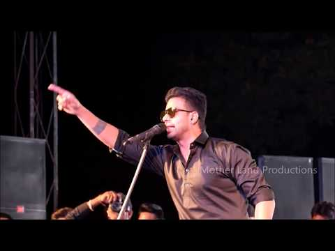 Mankirt Aulakh live concert in Panjab University Chandigarh 2018 .