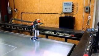 CYBERMATION 700a PLASMA PPI CNC retrofit
