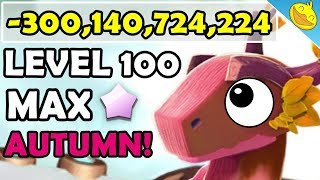 300 BILLION DAMAGE WTF?! MAX Level, 8 Star AUTUMN DRAGON! - DML #1094