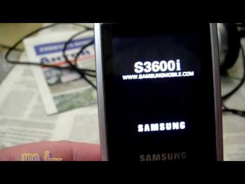 Samsung GT-S3600i 86EE0008 телефон