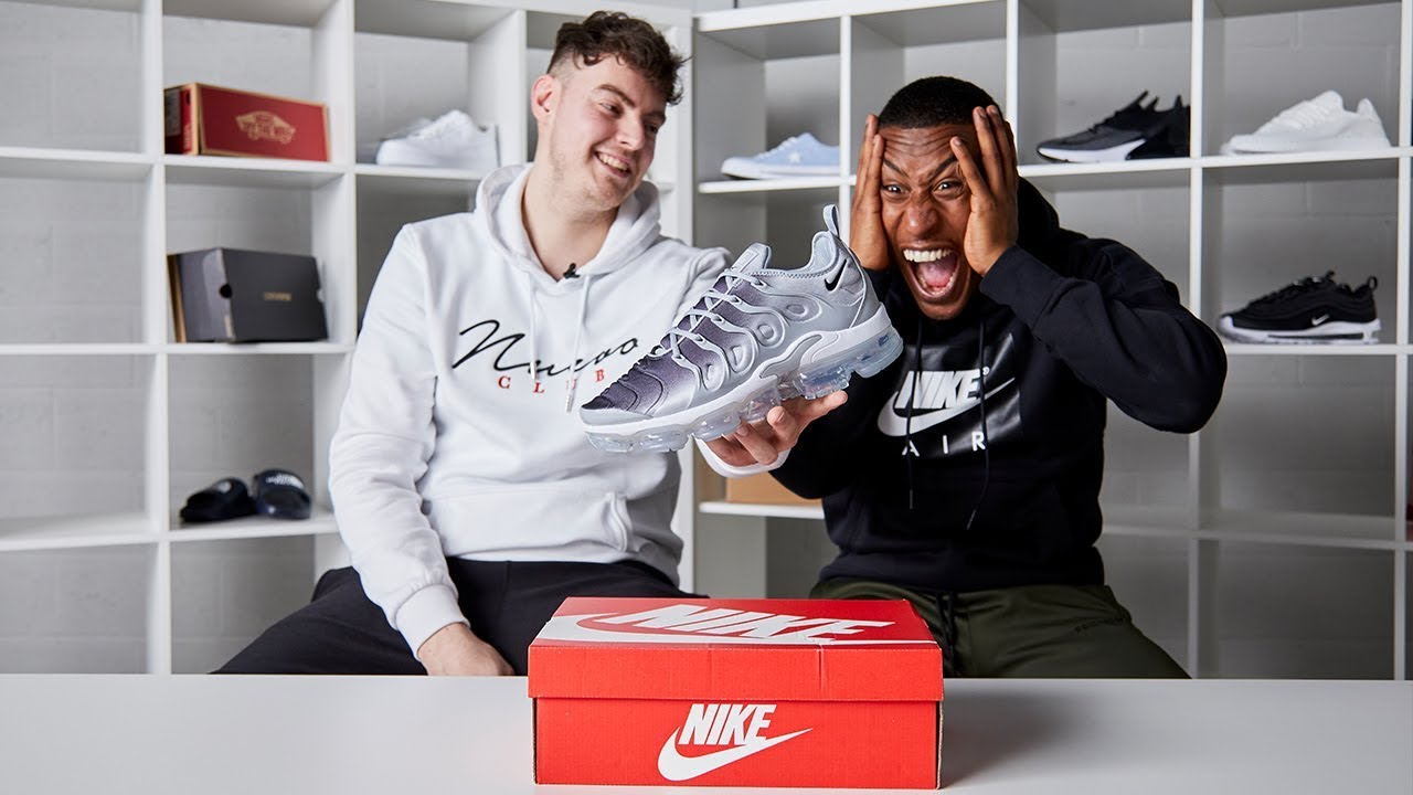 71d2faef14 Nike VaporMax Plus Unboxed ft. Yung Filly & Hicks. Footasylum