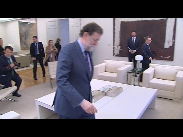 El presidente de Ceuta, Juan Vivas, acude a La Moncloa