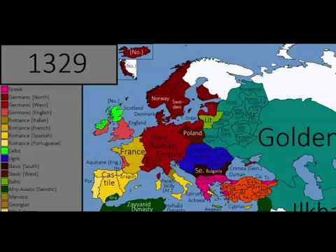 History of europe EVERY YEAR 1