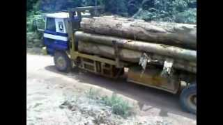 Nissan Logging Truck power