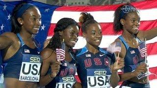 American girls remain Junior 4x100 champs - Universal Sports
