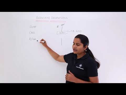 Introduction To Branching Instructions