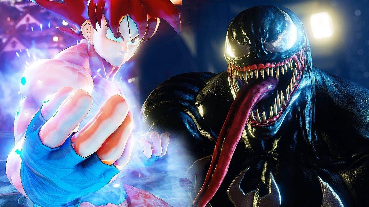 Street Fighter 5 - Goku becomes a Super Saiyan God vs ...