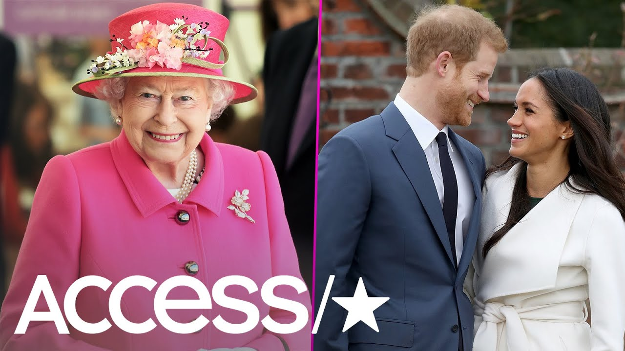 Queen Elizabeth II Keeps A Special Photo Of Prince Harry & Meghan ...