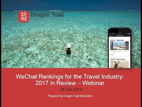 WeChat Rankings for the Travel Industry: 2017 in Review