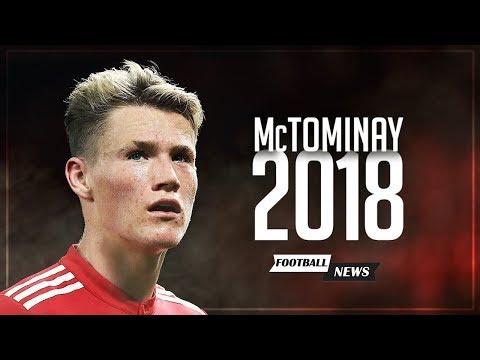 Scott McTominay 2018   Future Star   Best Skills, Passes,Touches & Intercepts 2017/2018