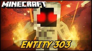 Minecraft Mod: ENTITY 303 (Novo Herobrine?! // Entity 303)