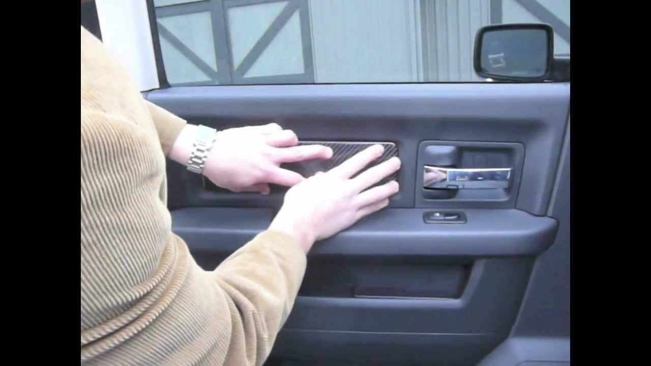 Dynomite Dash Install 2009 Dodge Ram Carbon Fiber Part 1