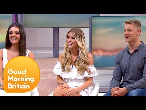 Piers Tries to Test Love Island's Hayley on Pythagoras' Theorem | Good Morning Britain