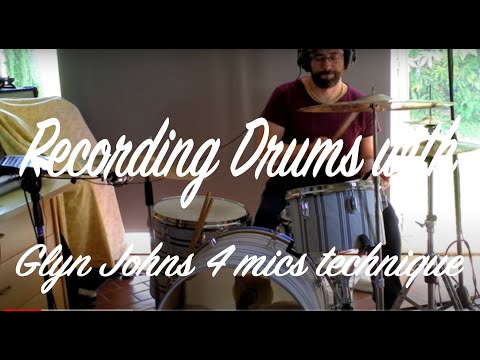Walking in the city   -Recording drums with Glyn Johns 4 mics technique-    MDS Studios