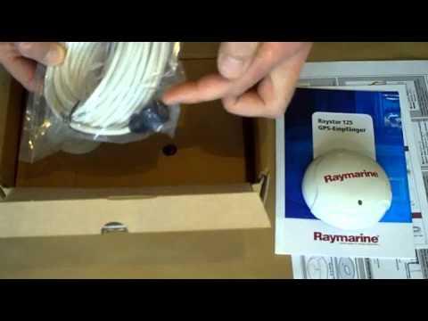 raymarine raystar 125 plus gps antenne von busse. Black Bedroom Furniture Sets. Home Design Ideas