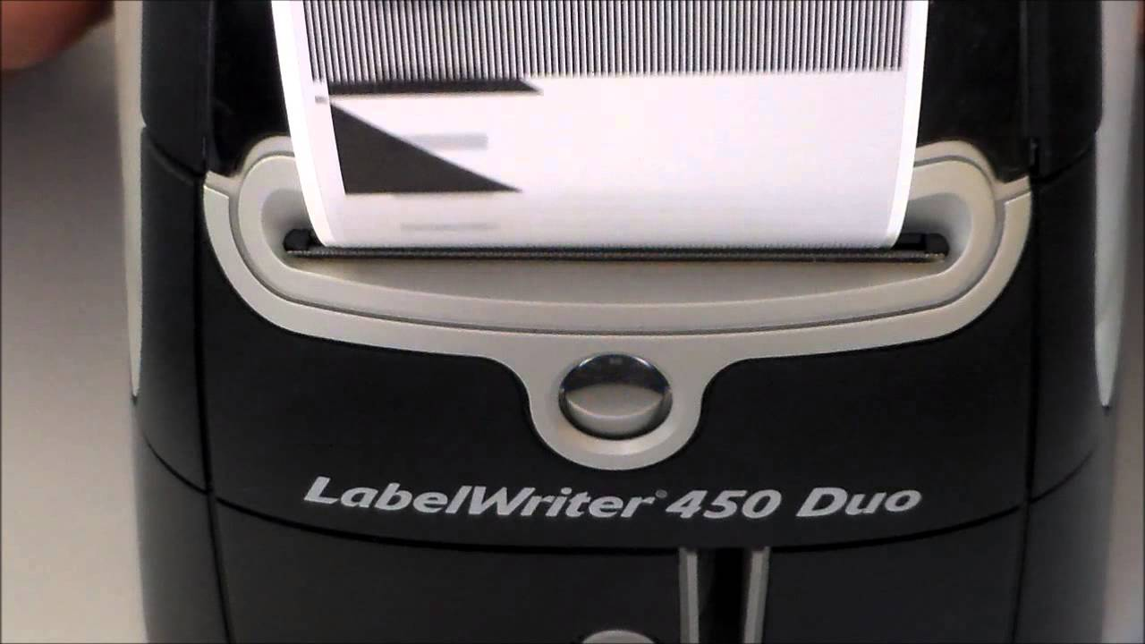 How to do a self-test on DYMO LabelWriter