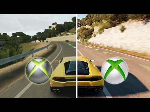 forza horizon 2 xbox one vs xbox 360 gameplay. Black Bedroom Furniture Sets. Home Design Ideas