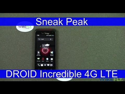 HTC DROID Incredible 4G LTE Smartphone for Verizon