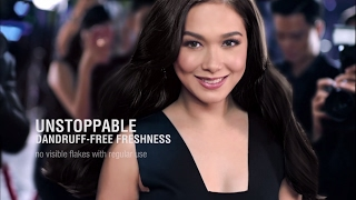 'wag magpatalo sa usok, araw at pawis! get unstoppable dandruff free freshness all day just like maja. buy clear complete soft care with sakura fragrance now...