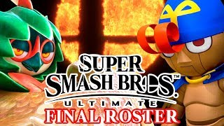 Smash Bros. Ultimate Final Roster - Who is Left?