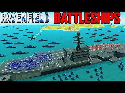NEW BATTLESHIPS vs AIRCRAFT CARRIER & Planes! (Ravenfield Beta 6 Part 8 New Update))