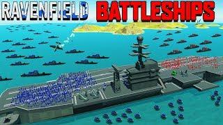 new battleships vs aircraft carrier planes ravenfield beta 6 part 8 new update