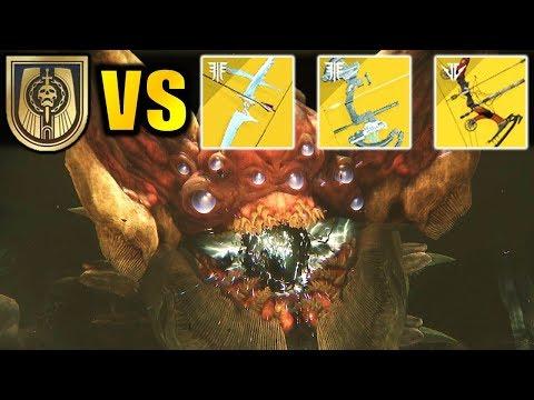 Destiny 2: EVERY Exotic Bow VS RIVEN!