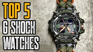 TOP 5: Best Casio G Shock Watches For MEN 2020